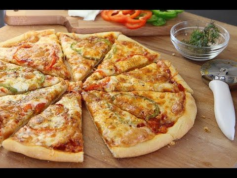 Recette de pizza facile / Easy homemade pizza /البيتزا بطريقة سهلة - YouTube