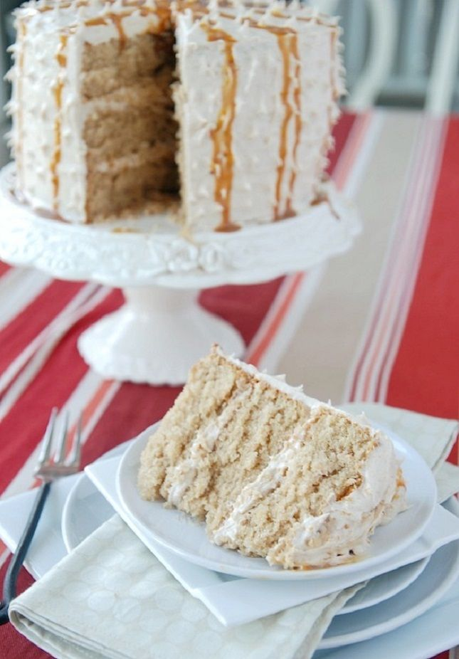 What's for dessert? Churro Cake.