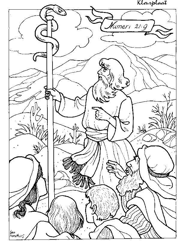 Mozes en de slang