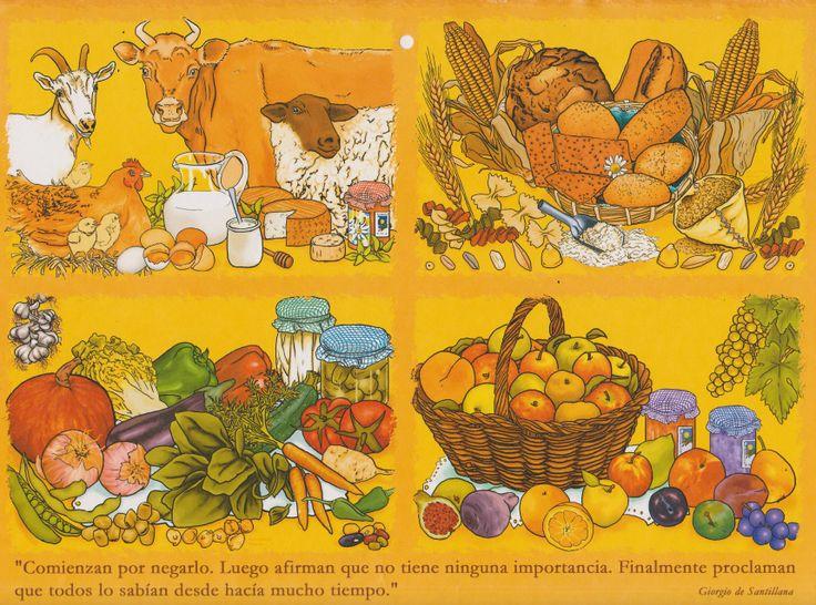 Calendario 2003 de Ekonekazaritza por Patricia Pérez Redondo.