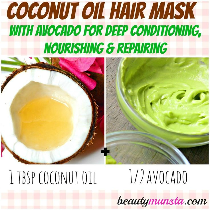 If you're looking for a natural, safe & chemical-free way to get long, strong & healthy hair, you can't miss the top 5 coconut oil hair masks on this page!