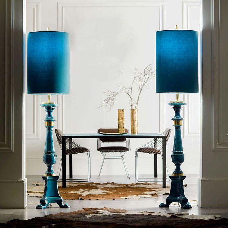 HAND ENGRAVED MAJOLICA #FLOORLAMPS | #Asta Boutique Interiors