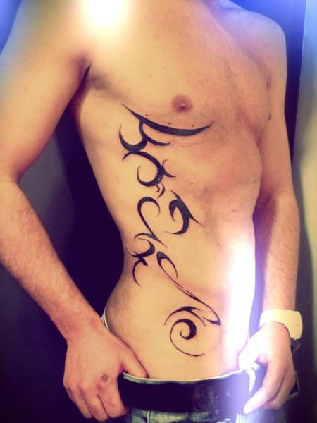 tatouage flanc homme tribal tatoo homme tableaux tatouage homme ...