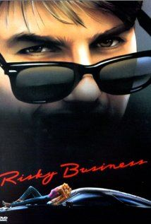 Risky Business with Tom Cruise - 80s chick flick - who knew Y-fronts could be soo sexy.... 6.7 on IMDB