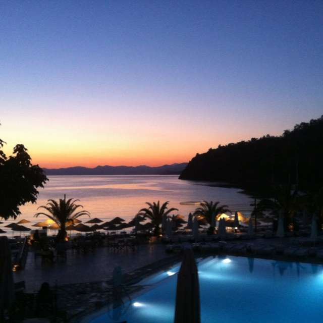Sunset at Hillside Beach Club - Fethiye, Turkey