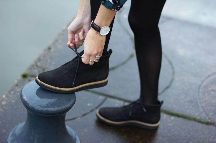 Fashiable, fashion, Clarks shoes, Daniel Wellington watch