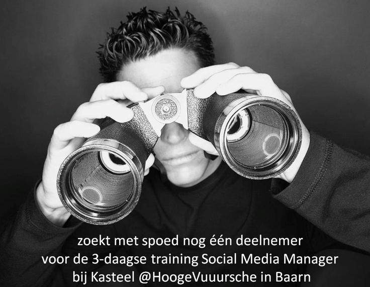 Training Social Media Manager