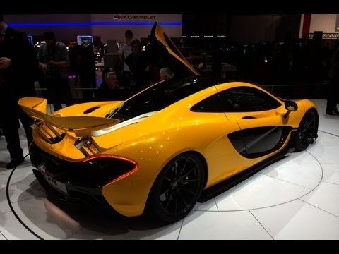 After the reveals of the Lamborghini Veneno and Ferrari LaFerrari at the 2013 Geneva Auto Show, McLaren gave us a peek inside the production version of the P1. The supercar costs around 1.15 million making it the most affordable of the hyper hybrids.
