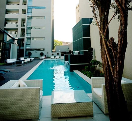 20 West Apartments Poolside.     http://www.eahs.co.za/establishments/20-west