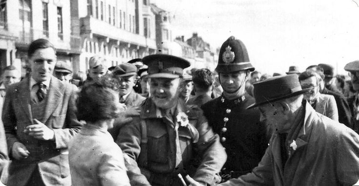The Channel Islands were liberated from the occupying German forces on 9 May 1945 by the British. The unconditional surrender had been signed just hours before this photo was taken.