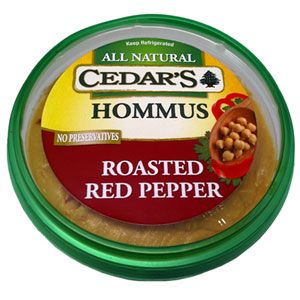My favorite hummus. Found at Whole Foods Market. Around $3, but sometimes you can find it even cheaper. It's worth every penny! #cedars, #hummus