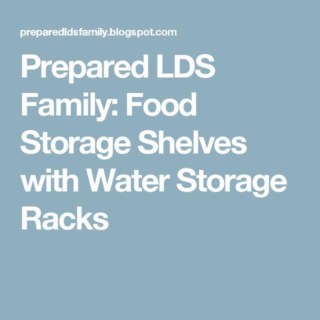 17 Best Ideas About Food Storage Shelves On Pinterest