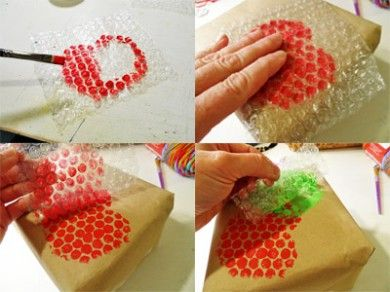 Apple Box Bubble Wrap Prints