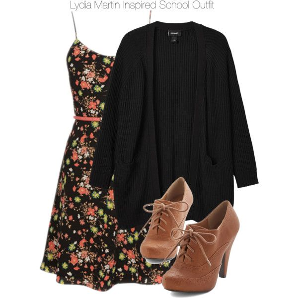 Lydia Martin Inspired Spring School Outfit by staystronng on Polyvore featuring Monki, Spring, school, LydiaMartin and tw