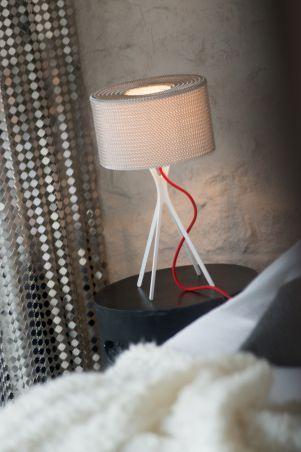 """Lampy - Le Labo Design - """"Lampe Easy cotte de mailles"""""""