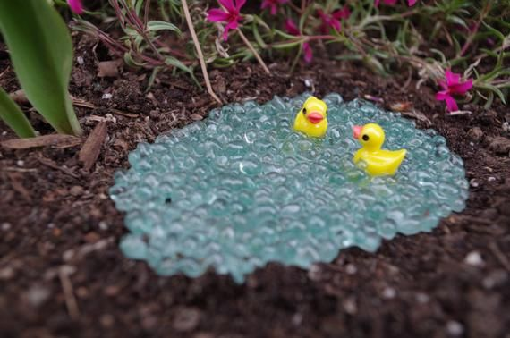 """Mini blue rubber duck approximately 2/"""" x 2/"""" x 2/"""""""