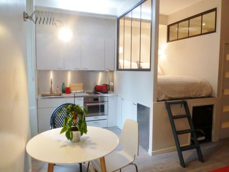 Image result for studio 20m2 avec ikea   Amenagement petit espace, Deco petit appartement ...