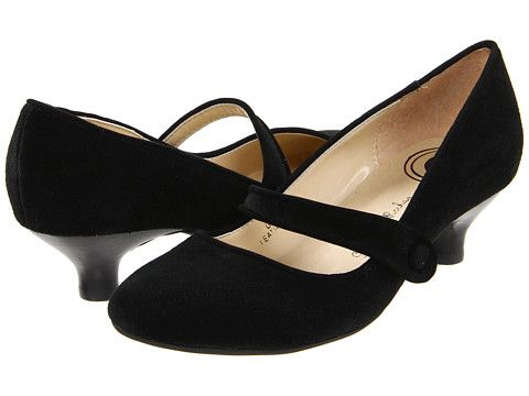 Gabriella Rocha Ginger Black Suede Leather - 6pm.com