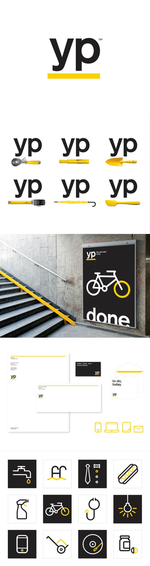 Yellow Pages brand design refresh