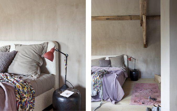 Een slaapkamer hoeft helemaal niet saai te zijn brown pigeon en soft lila van colora