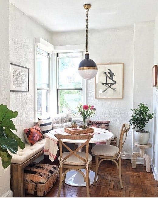 Best 25 small dining ideas on pinterest small dining for Latest dining room designs