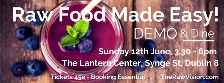"Join me in June for a Sunday afternoon ""Raw Food Made Easy!"" class followed by a deliciously healthy summer buffet!  This class is perfect for anyone who wants to know how to prepare quick, simple and deliciously healthy food for busy lifestyles!  All recipes are plant-based and prepared raw to preserve the maximum amount … Read More →"