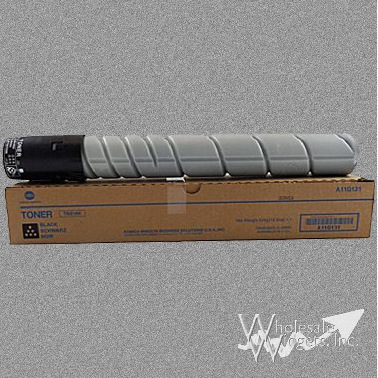 Konica Minolta TN216K Black Toner For Use In bizhub C220, C280, A11G131, 29k page yield