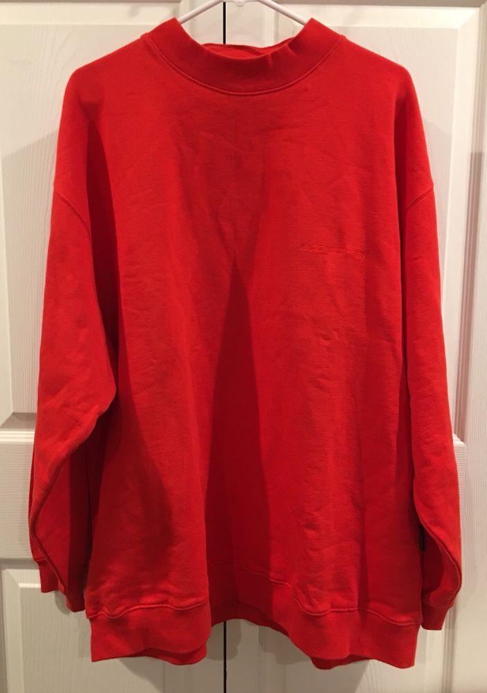 Porsche Mens Red Sweater Size XL 100% Cotton EUC  | eBay