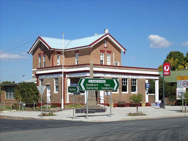 Post Office, Gunning, NSW by dunedoo, via Flickr