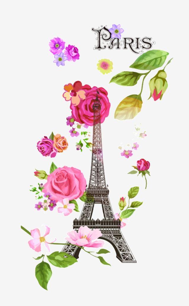 Le Vecteur De La Tour Eiffel Paris Papier Peint De Paris