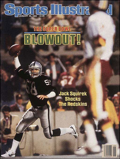 L.A. Raiders crush the Redskins - Super Bowl XVIII (1984)