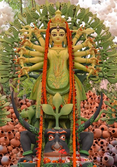 39 best Hindu Goddess DURGA images on Pinterest Durga, Navratri - invitation card format for satyanarayan pooja