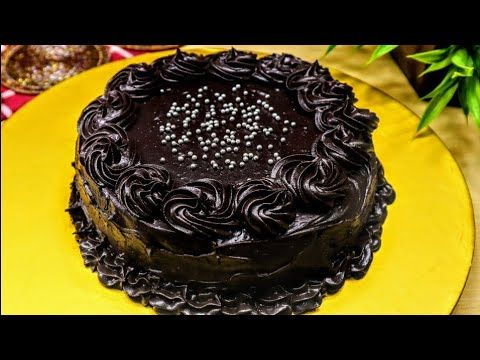 Chocolate Cake Without Wipped Cream, Without Egg, Without ...
