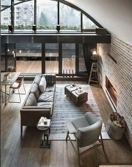 Stylish city life // urban loft // city suite // urban life // city living // metropolitan life //