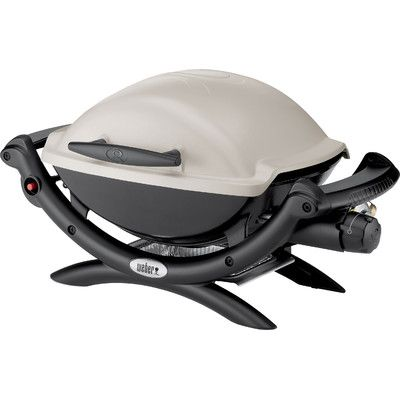 Weber Q® Series 1000 LP Titanium Portable Gas Grill & Reviews | Wayfair