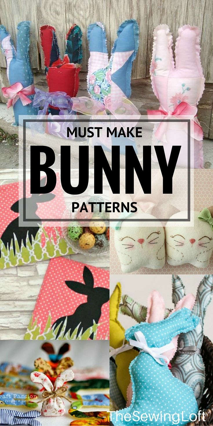 10 Amazing Bunny Patterns To Make This Easter