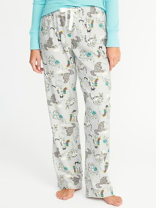 9ca815e1e Printed Flannel Sleep Pants for Women | Old Navy | cat pjs | Flannel ...