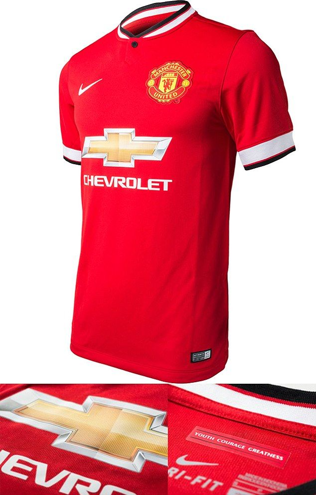 Leaked images of United's new kit - United have a new manager and now a new shirt too, with their new sponsors logo