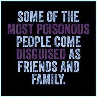 Sad thing is -- THEY will Deny, Deny & Deny.... Friends and Family are Back Stabbers too - Never Forget !!