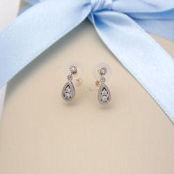 Drop Diamond 14k Gold Earring [YOU]