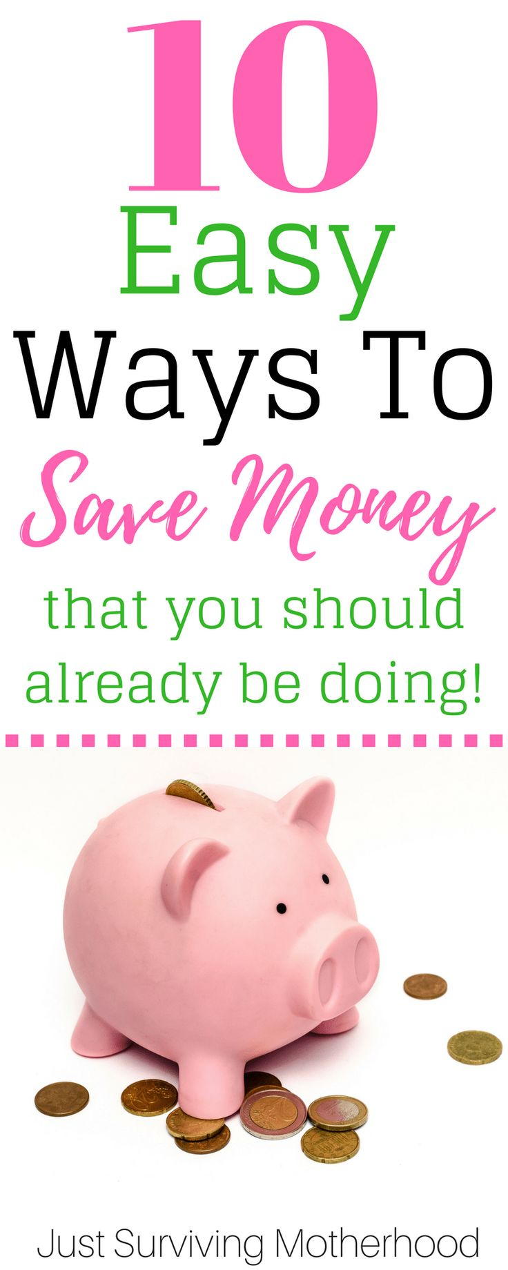 Are you trying to save more money? We all could stand to see a little more cushion in our bank accounts! Read this post for 9 super easy ways to save money in 2018!