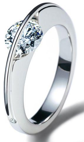 Brillantring aus der Arcana Kollektion von  Gebrüder Schaffrath - Diamantenmanufaktur.