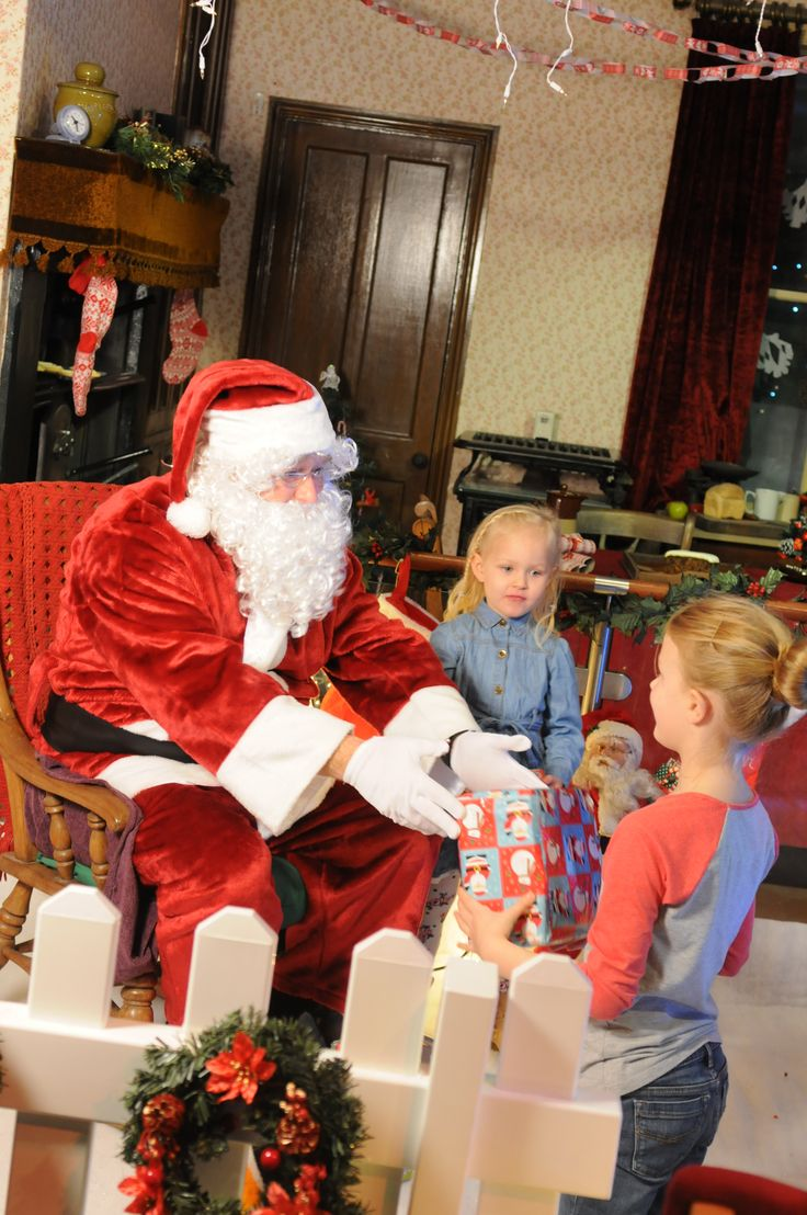 Santa made a special visit to South Shields Museum & Art Gallery at Jingle Bell Square to meet lots of local children from South Tyneside.