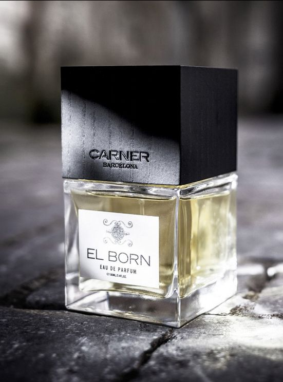 "EL BORN | CARNER BARCELONA ""A contemporary soft liquorish perfume filled with the vitality and character of El Born."""