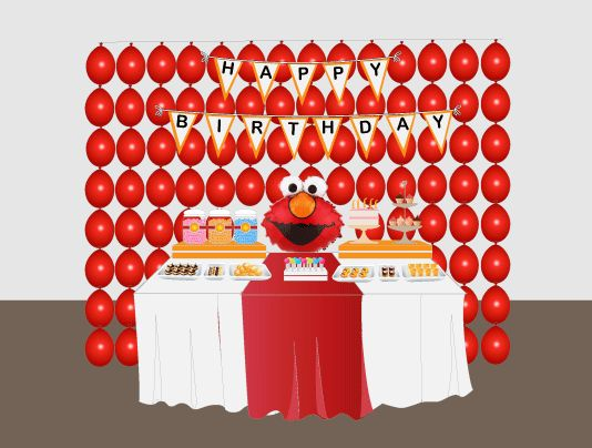 61 best diy elmo themed party ideas images on pinterest birthdays elmo party table design 2 with loads of balloons and elmo face elmo birthday party ideaselmo partybirthday party decorationsdiy solutioingenieria Images