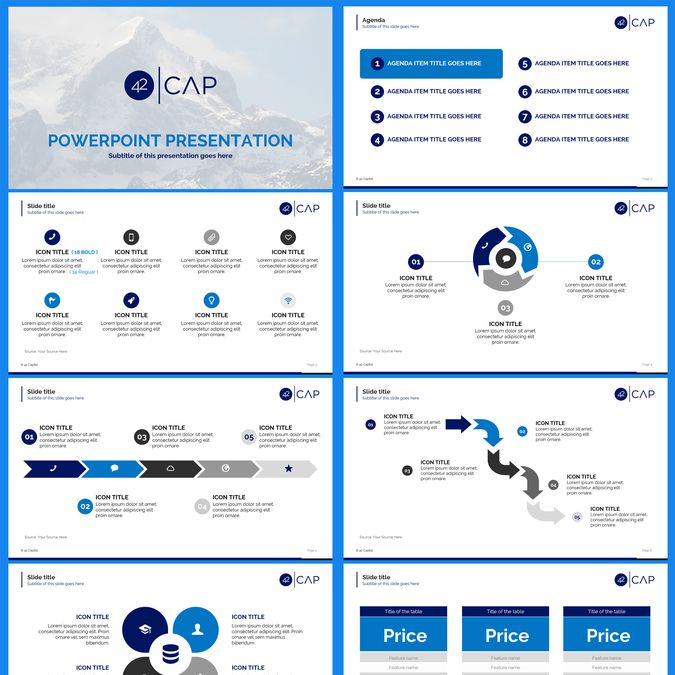 VC Fund Powerpoint Template by Bagacian Vlad