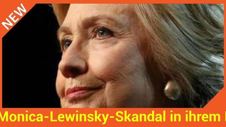 """Hillary Clinton veröffentlicht ihre Memoiren. Da darf der Monica-Lewinsky-Skandal natürlich nicht fehlen. Sie schreibt über """"dunkle Tage"""".   Source: http://ift.tt/2eQzffw  Subscribe: http://ift.tt/2swtuLS Monica-Lewinsky-Skandal in ihrem Buch"""