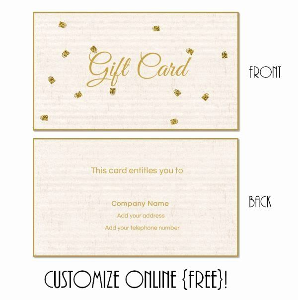 Free Gift Card Templates Fresh Free Printable T Card Templates That Can Be Customiz Gift Certificate Printable Template Gift Card Template Printable Gift Cards