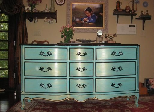 Pix for french provincial bedroom furniture redo paint - Painted french provincial bedroom furniture ...