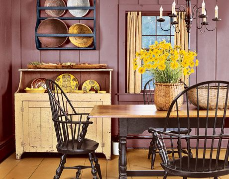 357 best primitive/colonial dining rooms images on pinterest